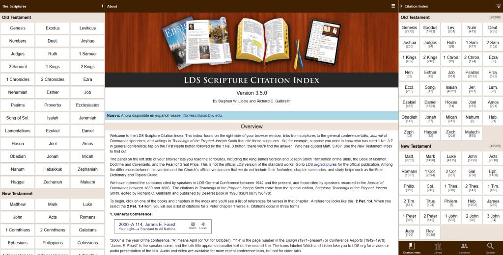 LDS Citation Index