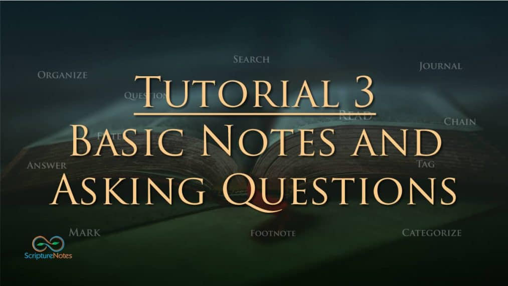 tutorial 3 basic notes and asking questions