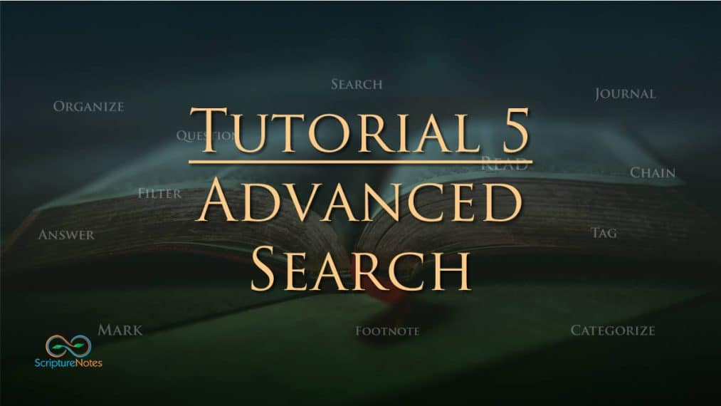 tutorial 5 advanced search