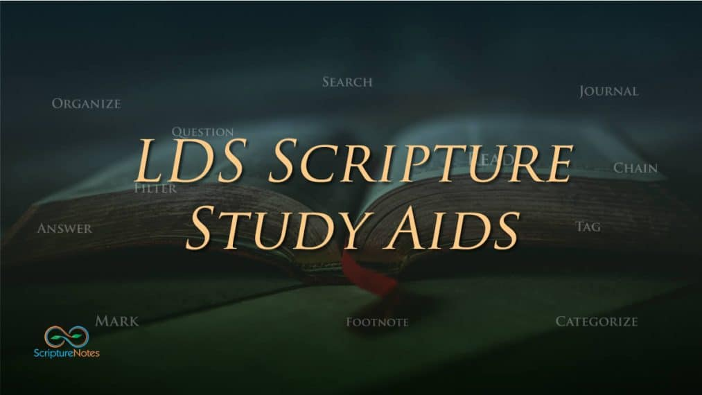 LDS scripture study aids