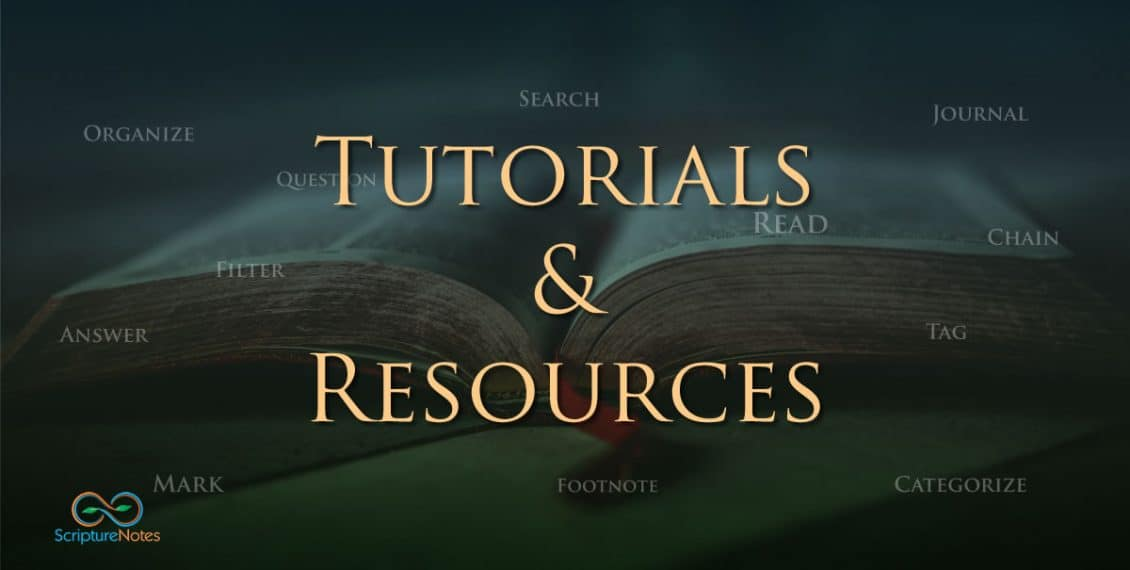 tutorials and resources
