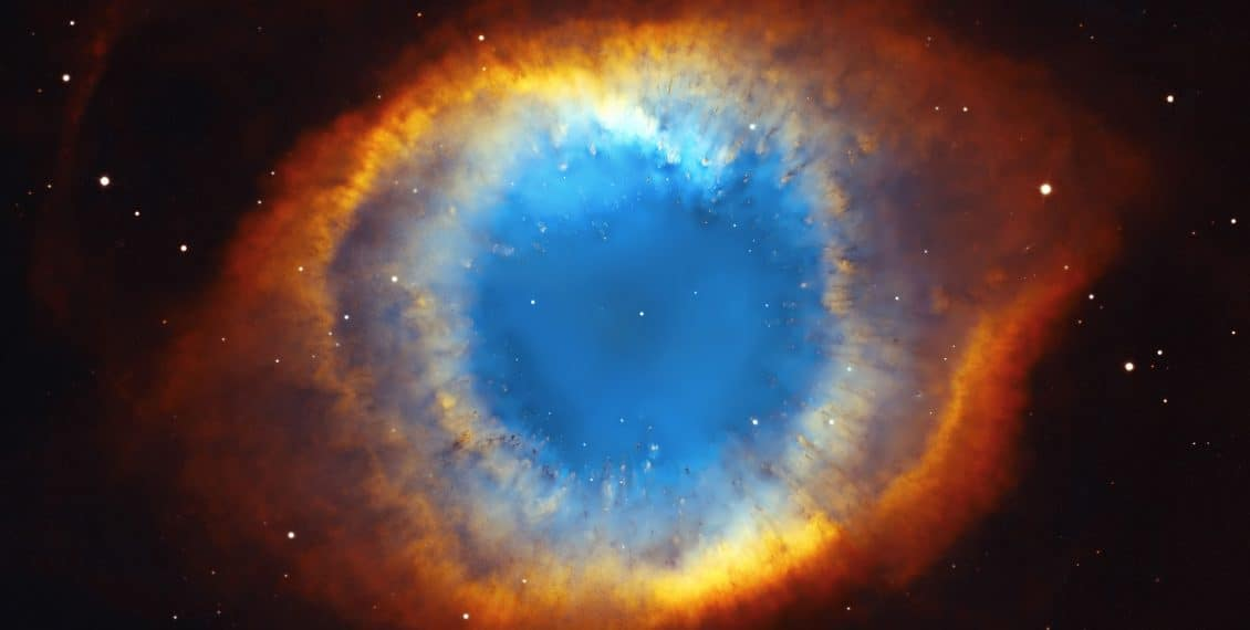 Helix nebula, eye of faith