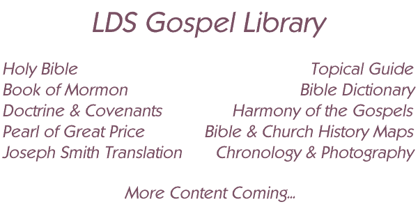 LDS gospel library