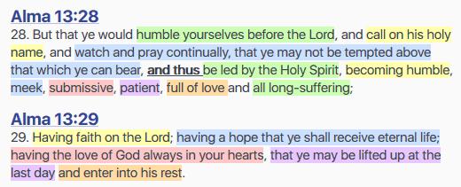 Alma 13:28-29