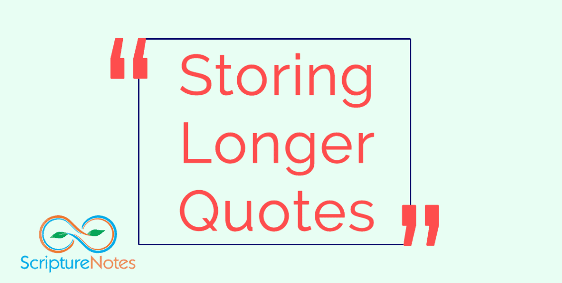 Storing Longer Quotes