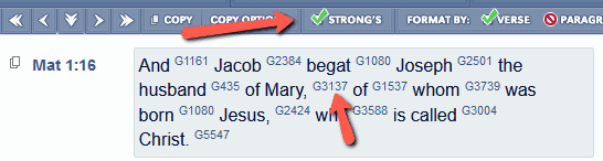 Mary BLB strongs 1