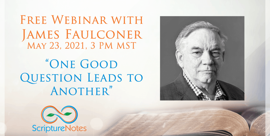 Webinar with James Faulconer